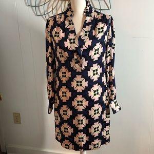 DVF Diane Von Furstenberg Silk Shirt Dress